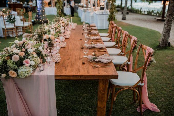 Rustic Decoration by Bali Izatta Wedding Planner & Wedding Florist Decorator - 008