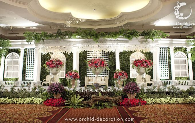 Life began in a garden by Orchid Florist and Decoration - 012