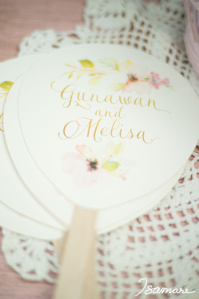 Gunawan & Melisa - Timeless Blush & Gold Wedding by isamare - 011