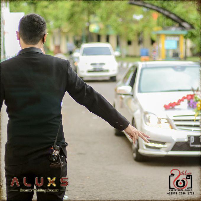 The Wedding of Santa & Khresna by Alux's Event & Wedding Creator - 035