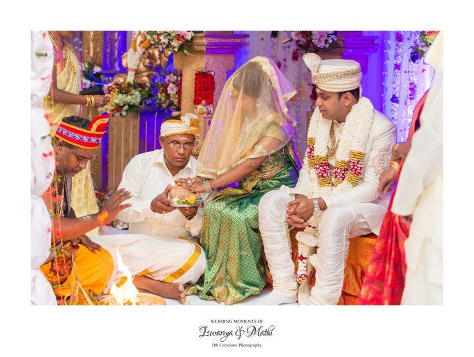 Wedding of Ishwariya & Mathi by DR Creations - 011