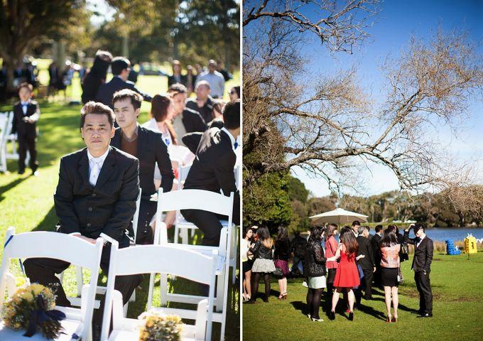 Sunshine outdoor wedding by SS Florist - 011