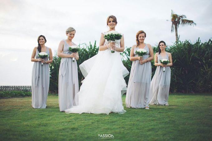 Nagisa Bali Wedding For Tahlia & Cam by Nagisa Bali - 011