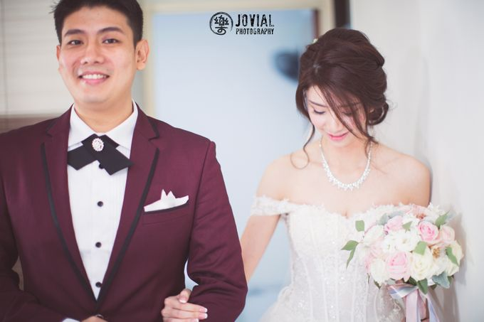 Wedding Actual Day & Pre Wedding by Jovial Photography - 030