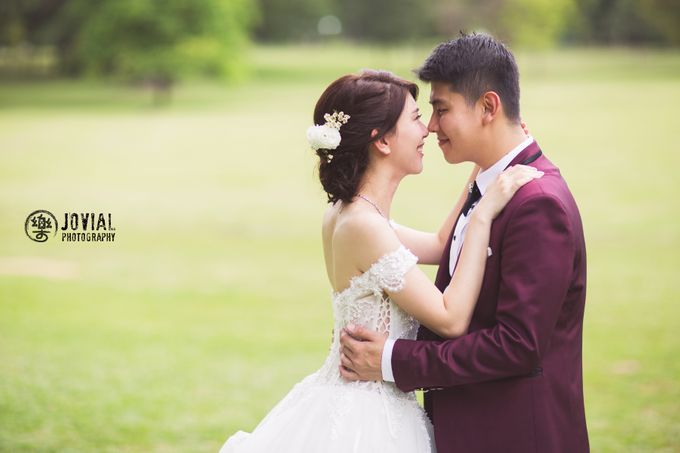 Wedding Actual Day & Pre Wedding by Jovial Photography - 031