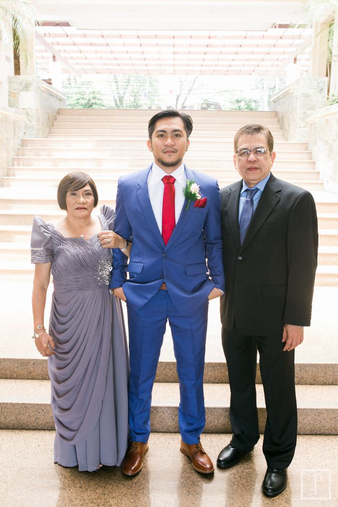 Blue Themed Wedding of CJ  and  Jane by Peach Frost Studio - 019