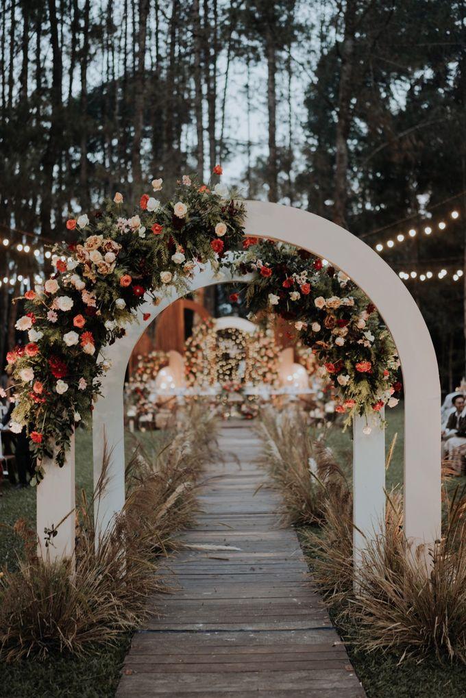 The Wedding of Nysha and Fariz by Elior Design - 009
