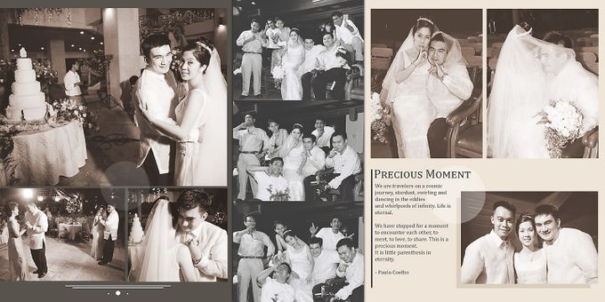 Wedding Album Lay-out by CJC PHOTOGRAPHY ASIA CORPORATION - 012