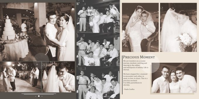 Wedding Album Lay-out by CJC PHOTOGRAPHY ASIA CORPORATION - 002