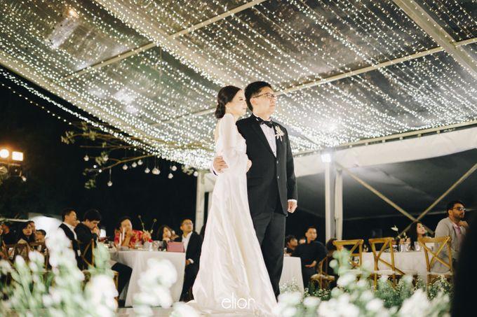 The Wedding Of David & Felicia by Elior Design - 026