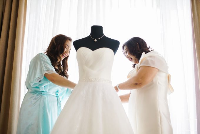 Blue Themed Wedding of CJ  and  Jane by Peach Frost Studio - 023