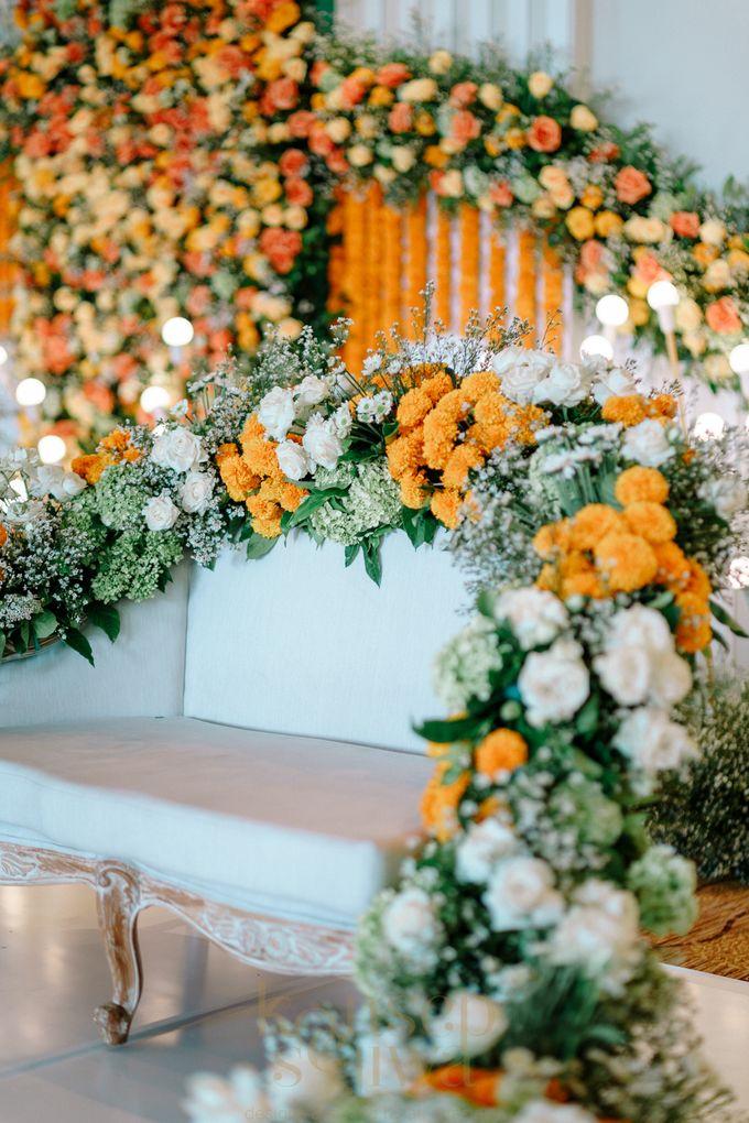 Beautifully Indian Wedding by Konsep Sejiwa - 004