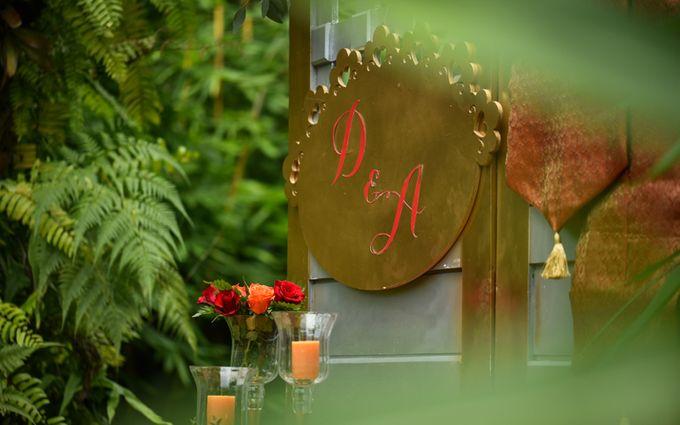 Minangkabau Traditional wedding set up at The Glass House by Tirtha Bridal - 012