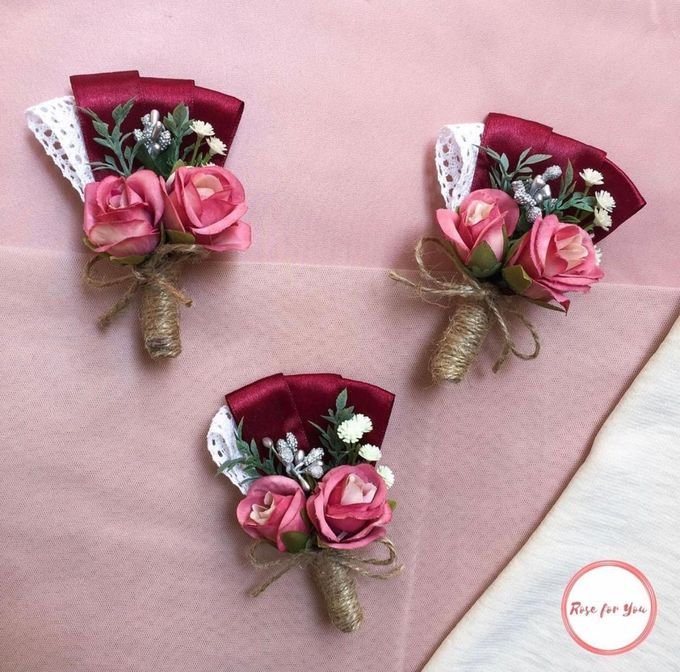 Boutonniere & Corsage by Rose For You - 012