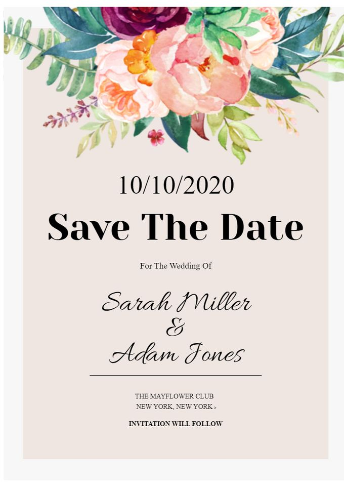 save the date by Save The Date - 004