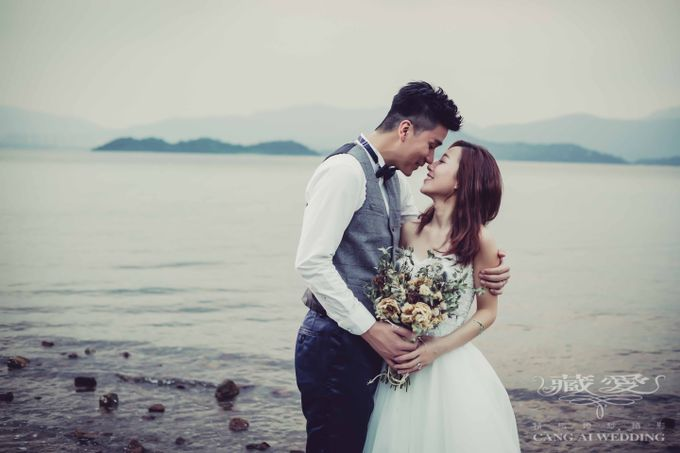 Streets of HK by Cang Ai Wedding - 005