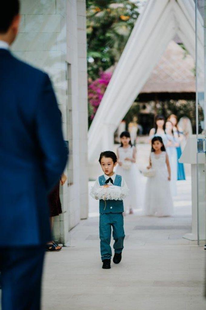 The Wedding of Larrie & Vivienne by BDD Weddings Indonesia - 012