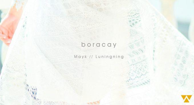 Mayk and Luningning  Boracay Wedding by WeCelebrate Studios - 001