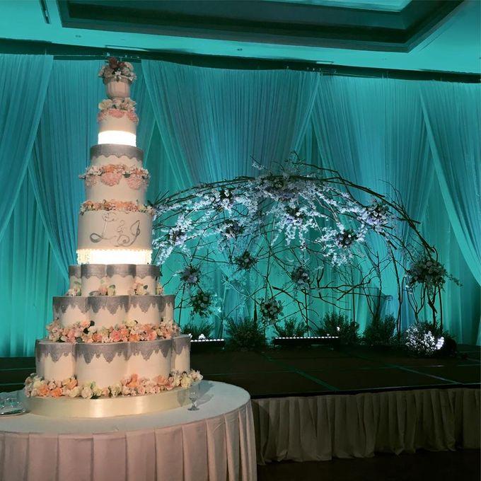 Wedding Cakes by Cupkeyk N Art - 019