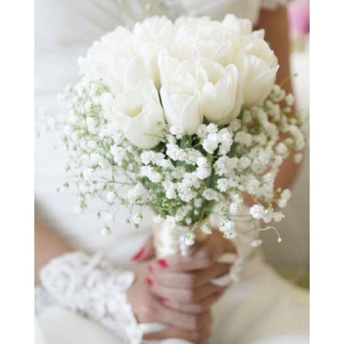 Pinterest inspired bridal bouquet by La Bloom Florist - 019