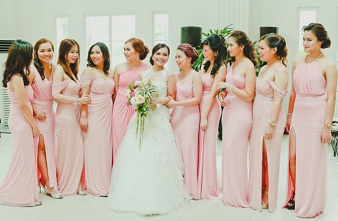 Customized Bridesmaids Dresses by White Label Bridal - 024