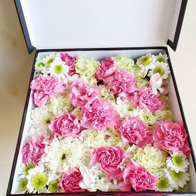Flower Box by LABUSHKY Bouquet - 004