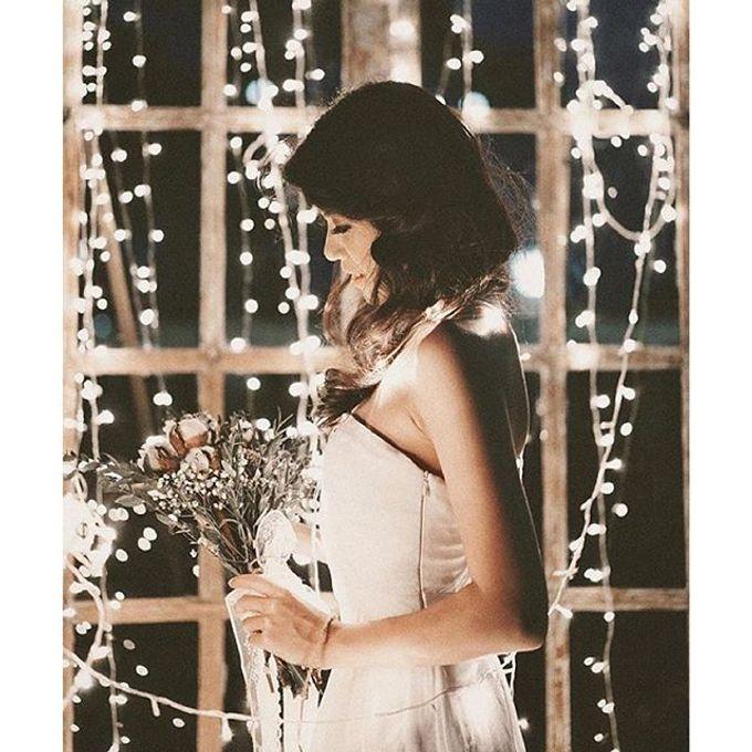 Pinterest inspired bridal bouquet by La Bloom Florist - 018