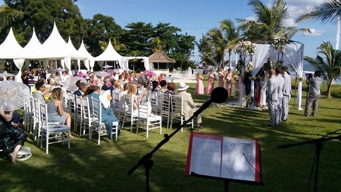 The Wedding of Carly and Matt by Bali Wedding Singer - 005