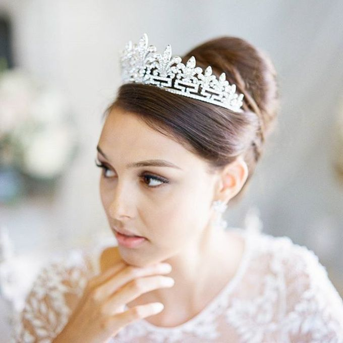 Regal Bridal Crowns and Tiaras and Headpieces by Eden Luxe Bridal - 009