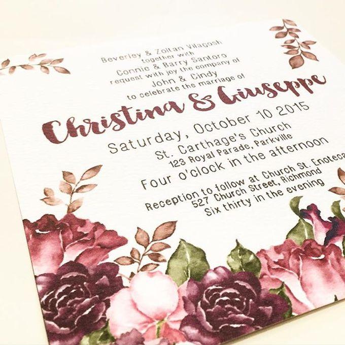 Christina & Giuseppe by Little Paper Lane - 003
