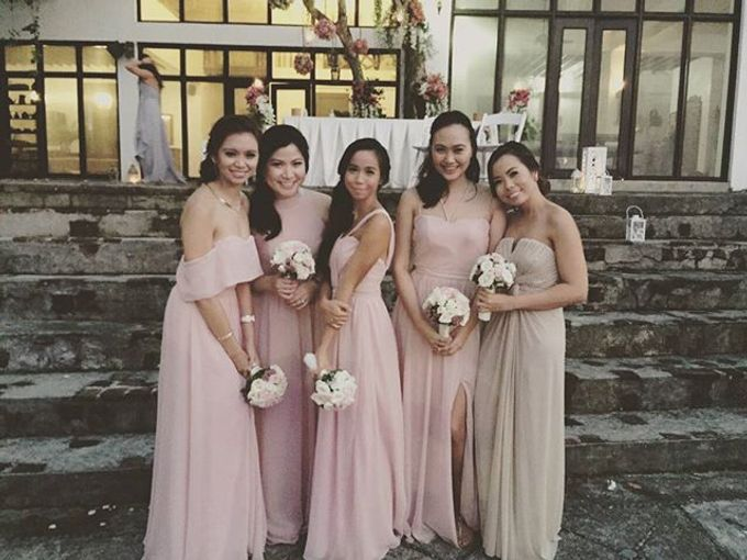 Customized Bridesmaids Dresses by White Label Bridal - 025