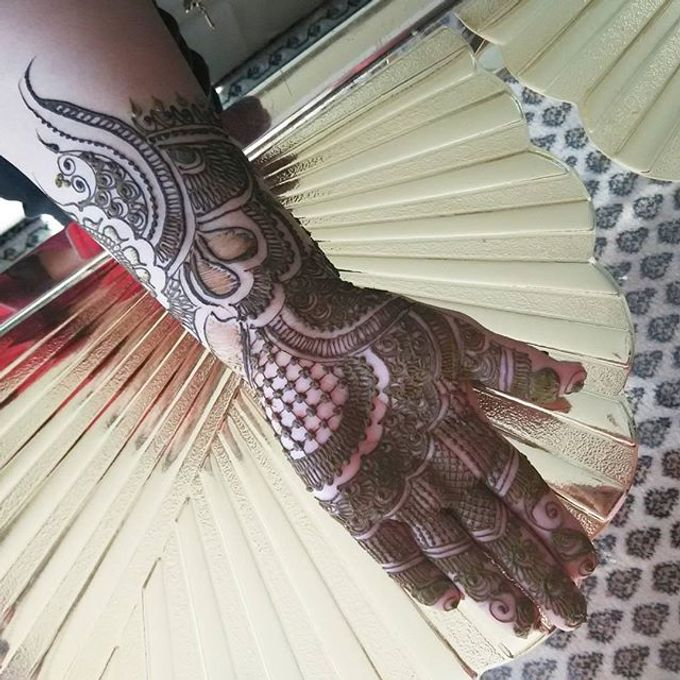 Bridal Henna - Arabic by Nakreze Mehndi - 017