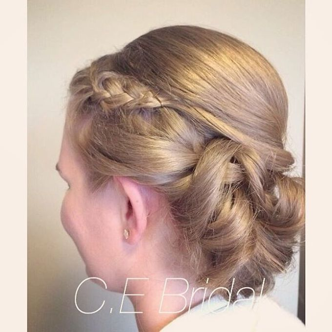 Hairstyles  by C.E Bridal - 015