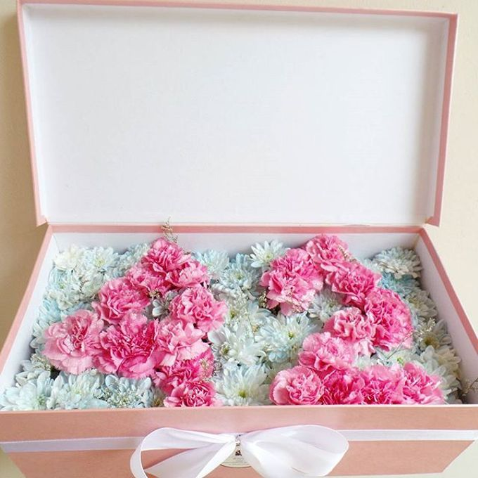 Flower Box by LABUSHKY Bouquet - 005