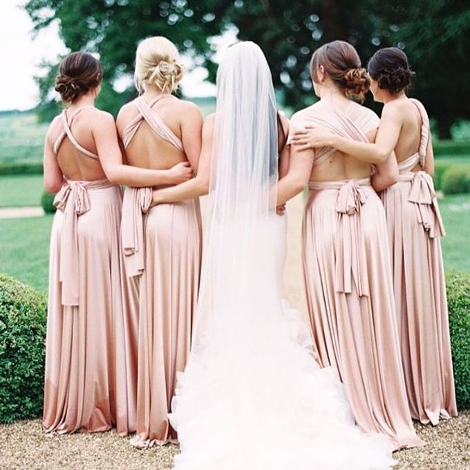 Convertible Bridesmaid Dress by The White Gallery - 009