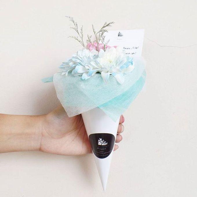 Flower Cone by LABUSHKY Bouquet - 006