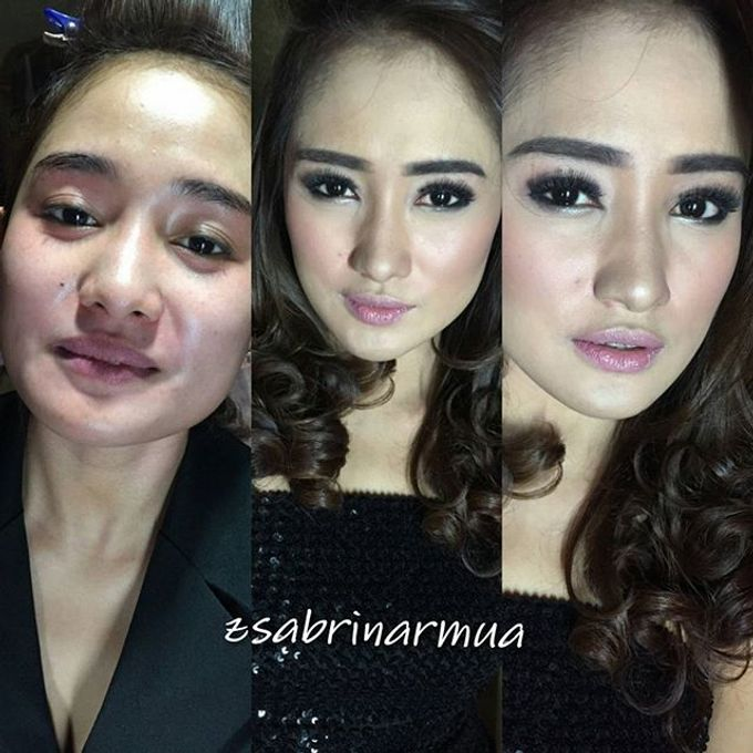 hair & makeup by zsabrinar Makeupartis - 014