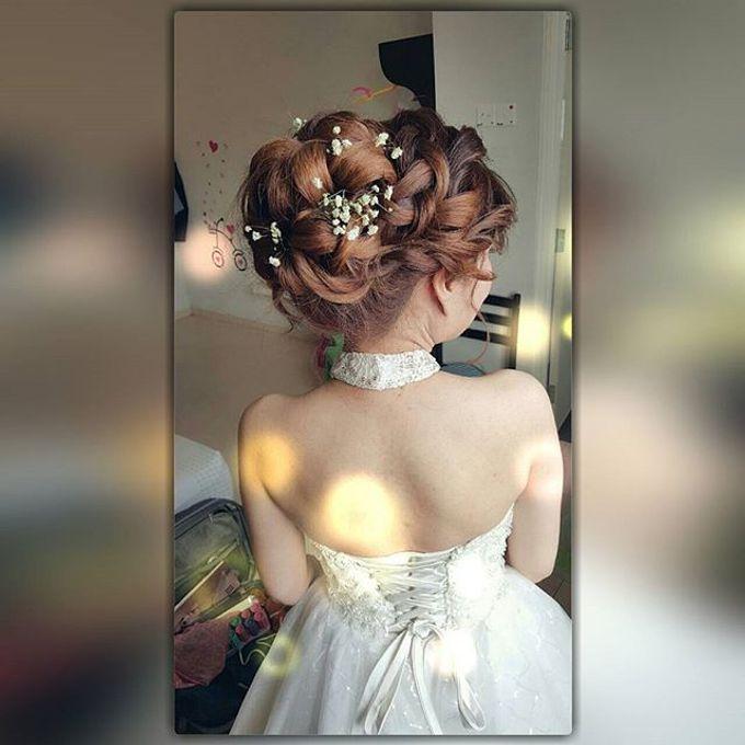 ALLY CHOONG BRIDAL MAKE UP & HAIR STYLING by Ally Choong . Make Over - 005