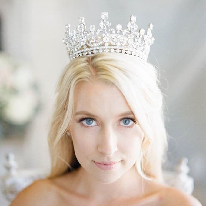 Regal Bridal Crowns and Tiaras and Headpieces by Eden Luxe Bridal - 005