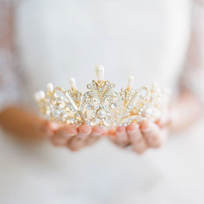 Regal Bridal Crowns and Tiaras and Headpieces by Eden Luxe Bridal - 006