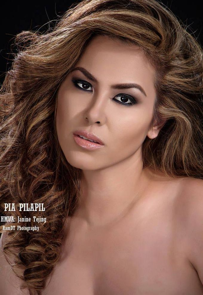Pia Pilapil Makeup by Janine Tajing by Make up by Janine Tejing - 001