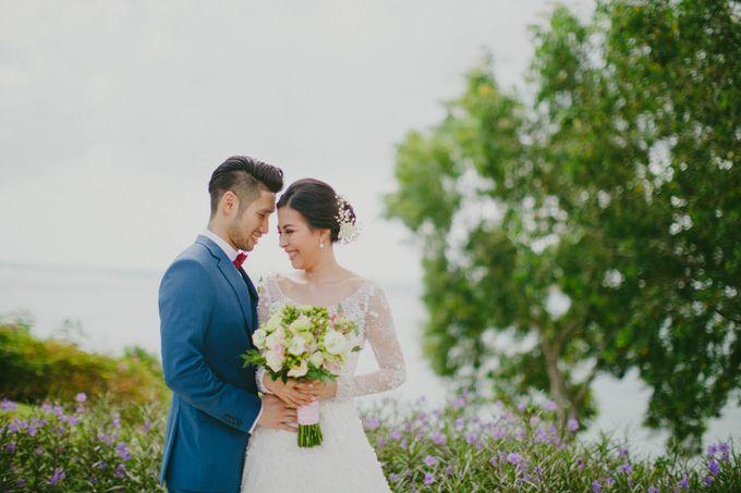 RUSTIC WEDDING DAVID AND JOICE IN SKY AYANA BALI by W organizer - 019