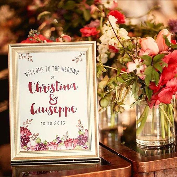 Christina & Giuseppe by Little Paper Lane - 002