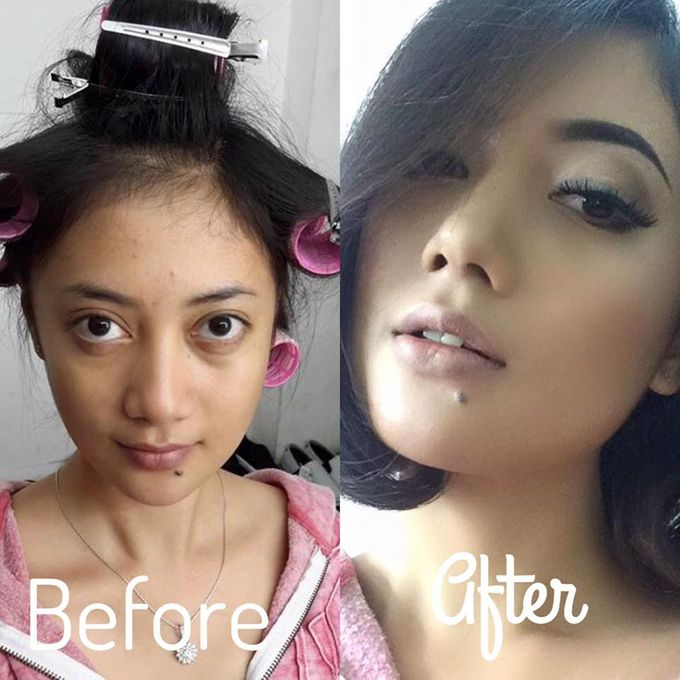 BEFORE AND AFTER by Dendy Oktariady Make Up Artist - 002