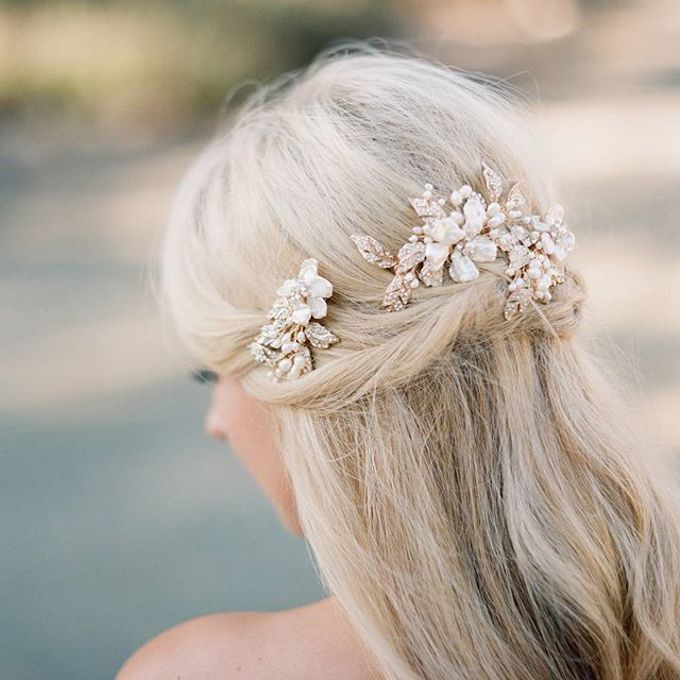 Regal Bridal Crowns and Tiaras and Headpieces by Eden Luxe Bridal - 004