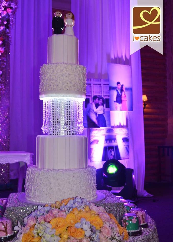 Wedding Cakes by I Love Cakes - 019
