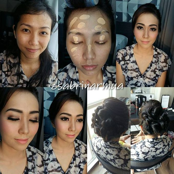 Before after by zsabrinar Makeupartis - 013