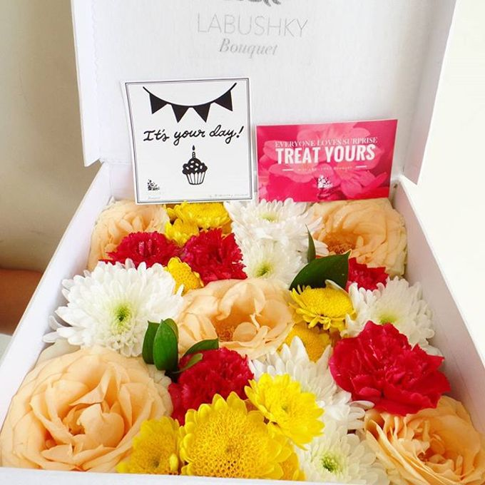 Flower Box by LABUSHKY Bouquet - 003