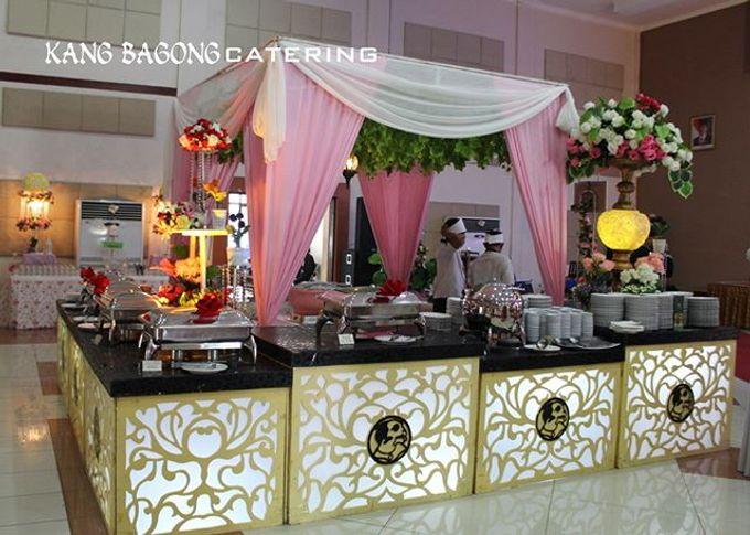 Pink Table Setting By Kang Bagong Catering Bridestorycom - Catering buffet table setup