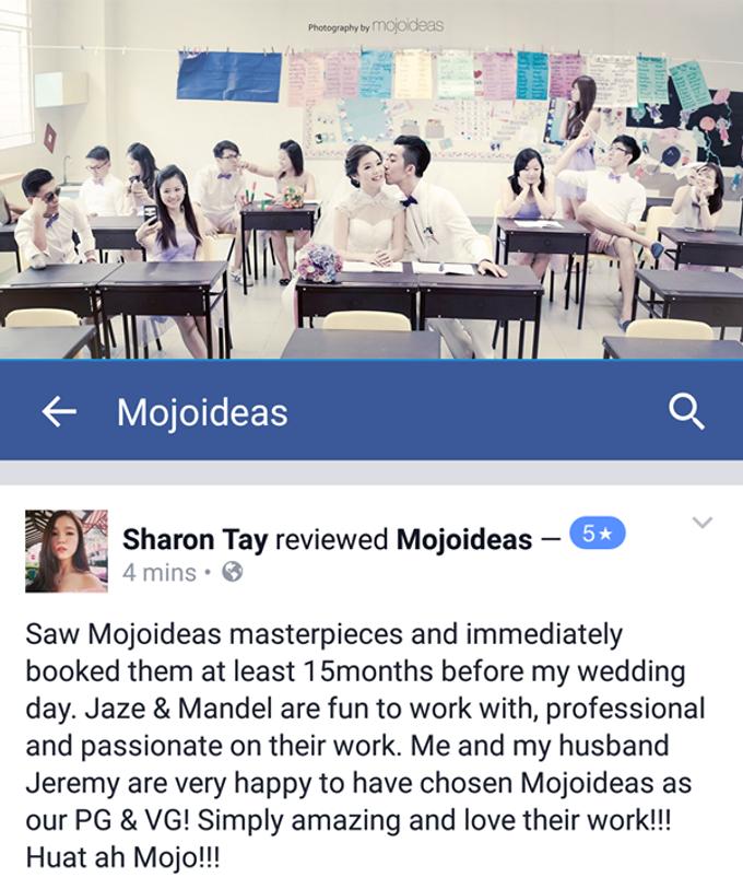 Real Wedding Testimonials by Mojoideas - 030